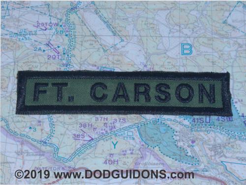 FT. CARSON