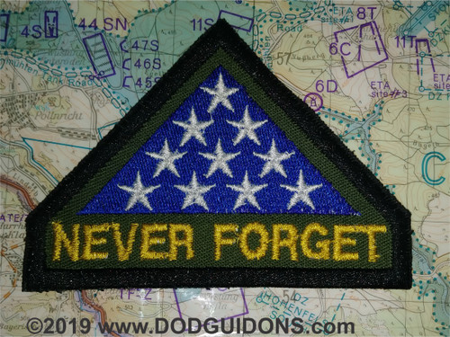 NEVER FORGET PATCH