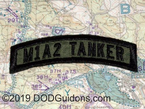 M1A1 TANKER TAB OD GREEN