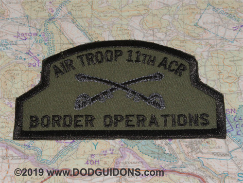 AIR TROOP 11TH ACR BORDER OPERATIONS