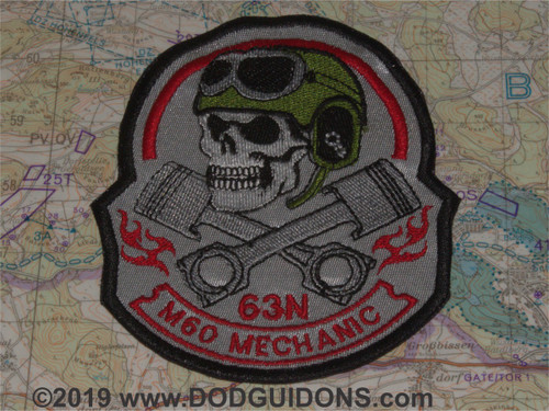 63N TANK MECHANIC SKULL TC
