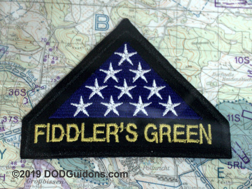 FIDDLERS GREEN MEMORIAL PATCH