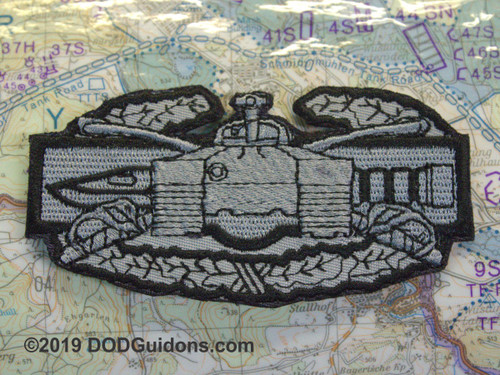 ARMOR COMBAT ACTION BADGE