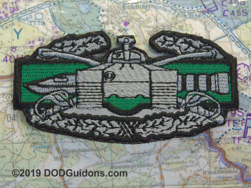 ARMOR COMBAT ACTION BADGE GREEN