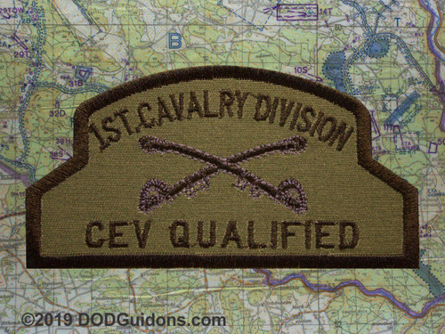 1ST CAVALRY CEV QUALIFIED