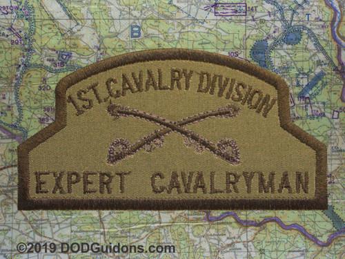 1ST CAVALRY EXPERT CAVALRYMAN