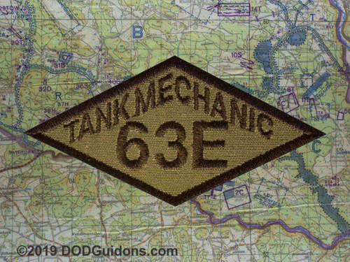 63E TANK MECHANIC DIAMOND