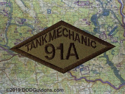 91A TANK MECHANIC DIAMOND