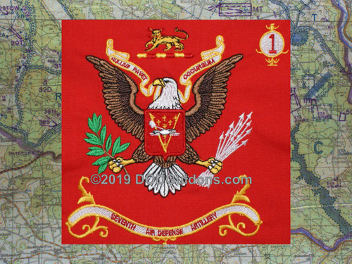 7th Air Defense Artillery Regimental Flag