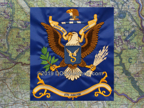 5th Aviation Regimental Flag