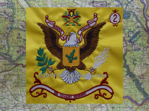 12th Cavalry Regimental Flag
