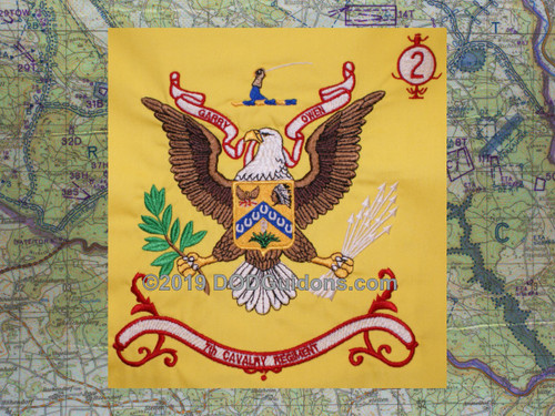 7th Cavalry Regimental Flag