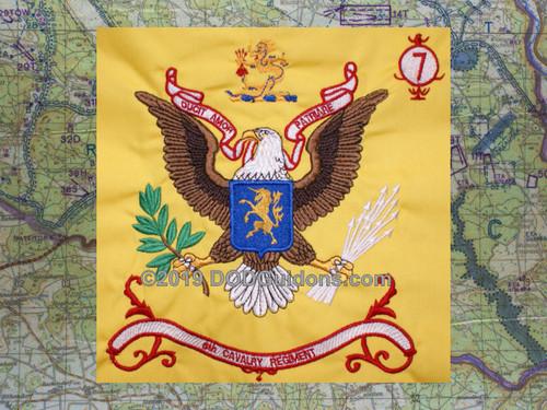 6th Cavalry Regimental Flag