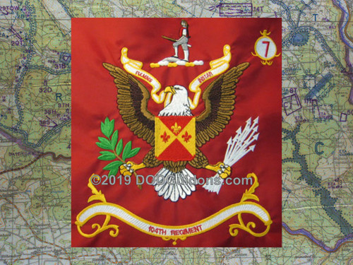 104TH REGIMENT FLAG