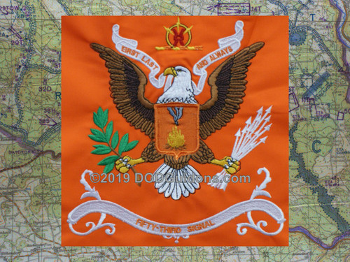 53RD SIGNAL BATTALION FLAG
