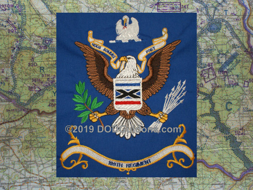 199TH REGIMENT FLAG