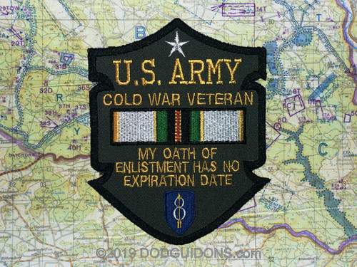 Cold War Veteran Oath Of Enlistment 8th ID
