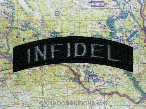 """""""INFIDEL"""" TAB PATCH"""
