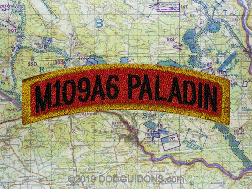 M109A6 PALADIN TAB PATCH