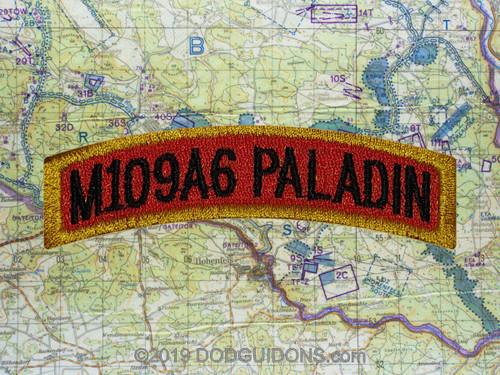 M109A6 PALADIN TAB PATCH