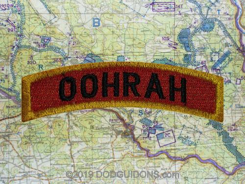 OOHRAH TAB PATCH