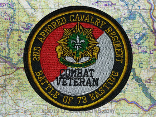 2nd ACR 73 EASTING Combat Veteran Patch