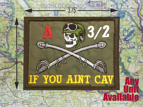 IF YOU AINT CAV CUSTOM PATCH 1