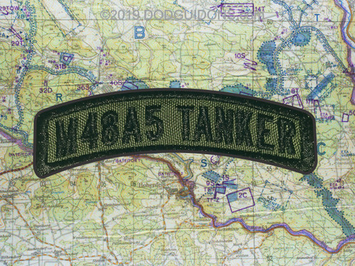M48A5 TANKER TAB PATCH