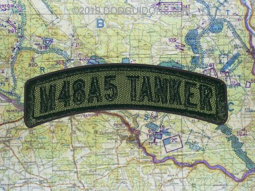 M48A5 TANKER TAB PATCH