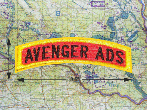 AVENGER ADS TAB PATCH