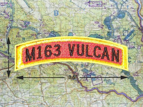 M163 VULCAN TAB PATCH