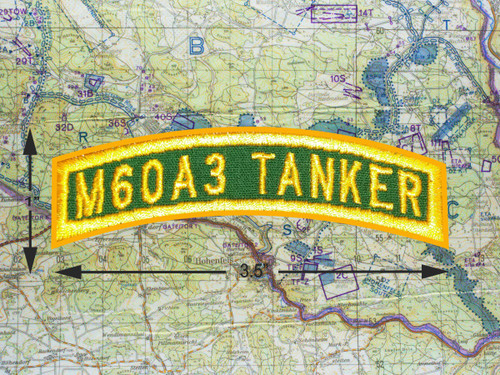 M60A3 TANKER TAB GREEN GOLD