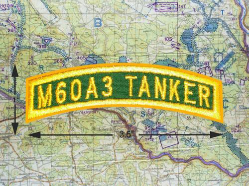 M60A3 TANKER TAB GREEN GOLD