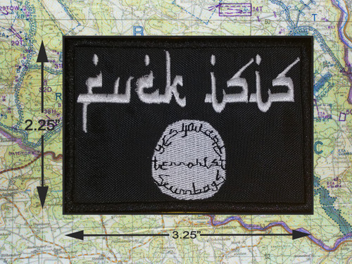 FCUK ISIS MORALE PATCH