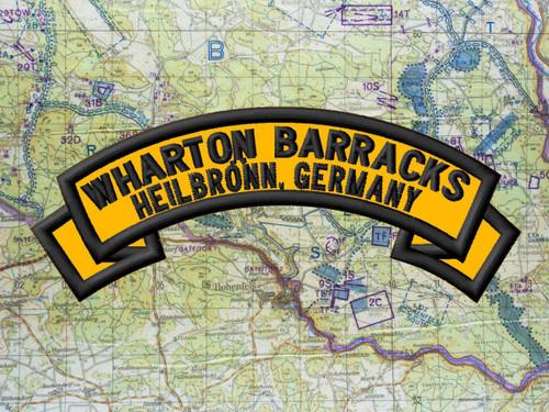 Wharton Barracks patch