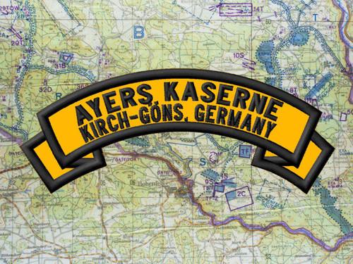 Ayers Kasernebuilt in 1952 (on former Fliegerhorst)Kirch Göns
