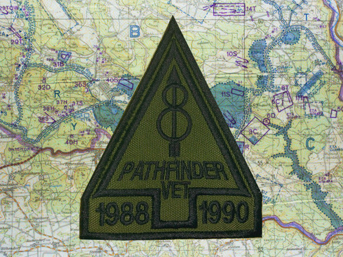 8th ID Veteran Pathfinder Patch