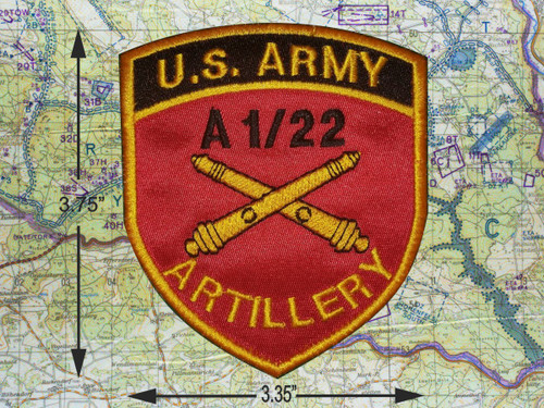 Field Artillery Shield Custom