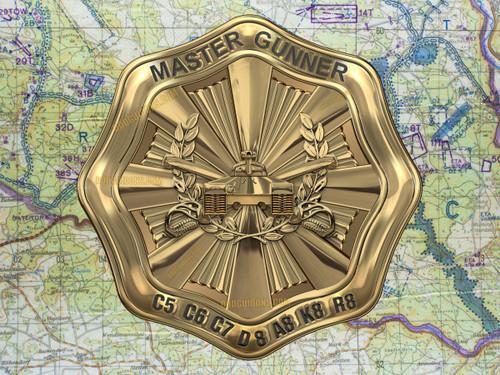 M60 Master Gunner Medallion