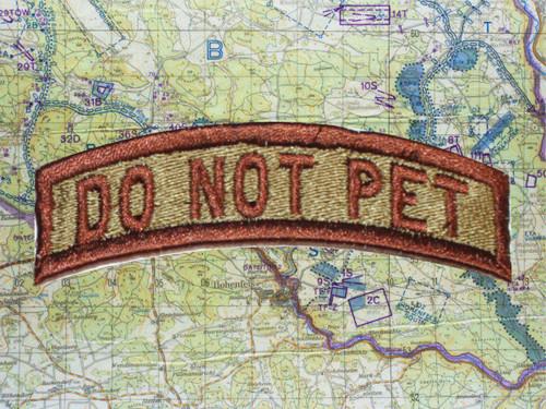 DO NOT PET TAB