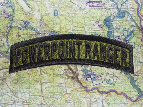 POWER POINT RANGER GREEN