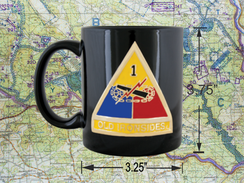1st armor Division Coffee cup