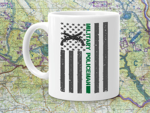 MILITARY POLICE COFFEE CUP