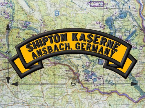 Shipton Kaserne  Ansbach Patch
