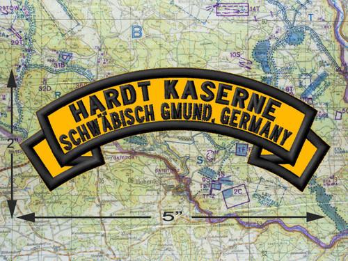 Hardt Kaserne, Schwäbisch Gmünd