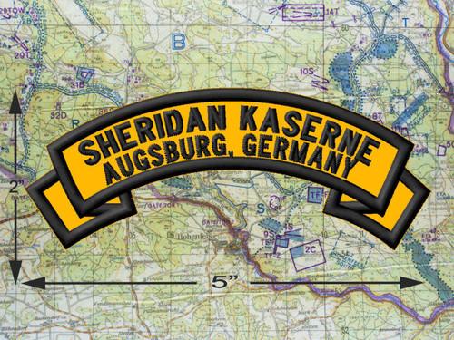 Sheridan Kaserne, Augsburg