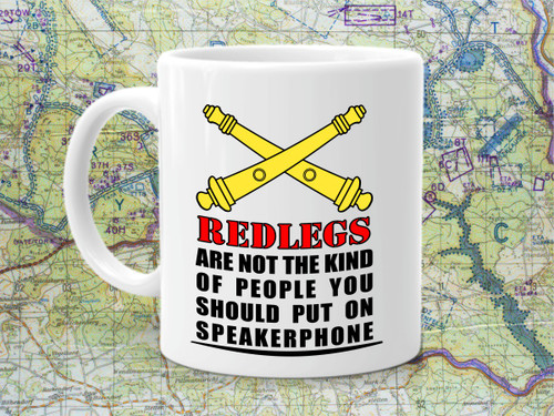 Redleg Not on Speakerphone Coffee Cup