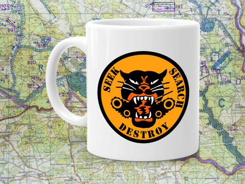 Tank Destroyer Battalion Coffee Cup