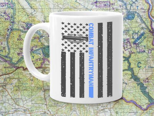 Combat Infantryman Flag Coffee Mug