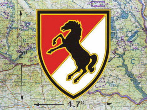 11th Armored Cavalry Small Medallion